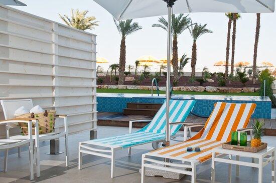 Herods Dead Sea Executive Garden Room Pool