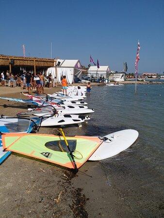 Alacati, Turquie : ALAÇATI sörf alanı
