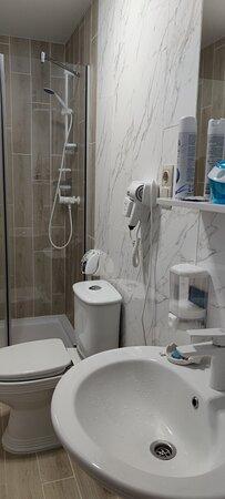 ванная в номере.