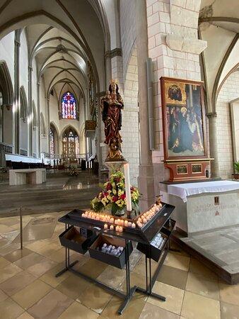 Blick in Richtung Altar