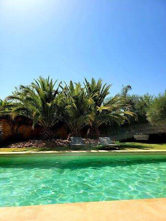 Bougainvillier's pool