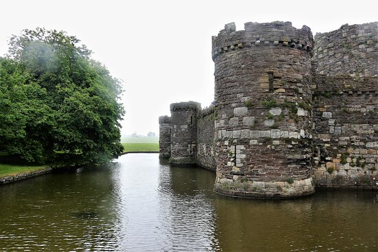 3.  Beaumaris Castle, Beaumaris, Anglesey, North Wales