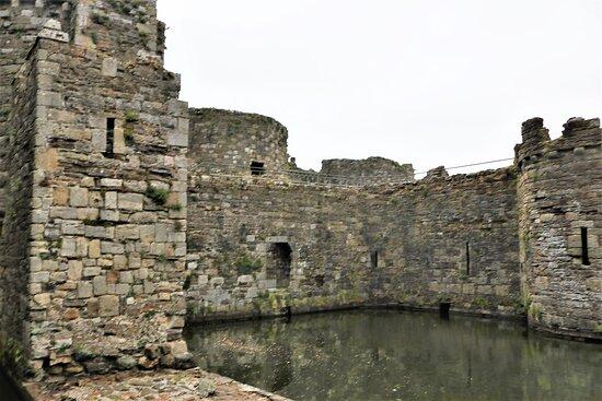4.  Beaumaris Castle, Beaumaris, Anglesey, North Wales