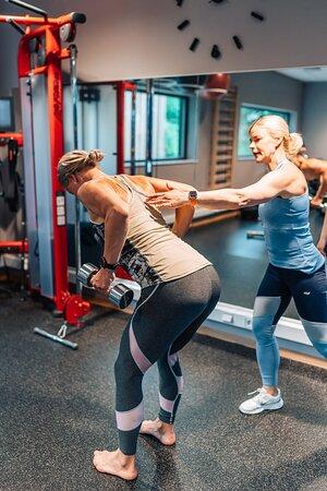 Personlig träning  i vårt gym.