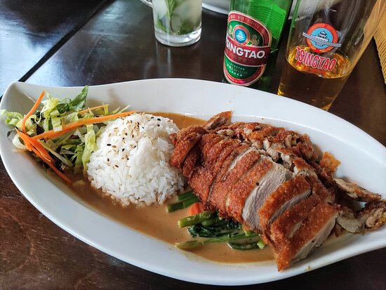 Crispy duck - cooked to perfection