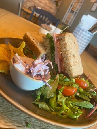 Lunctime? We've got it sorted with our homemade, made to order sandwiches.