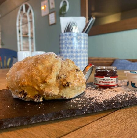 Who doesn't love a giant scone.