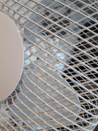 Broken fan.