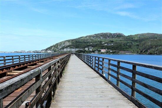 4.  Mawddach Estuary, Barmouth, Gwynedd, North Wales