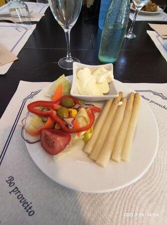 Platos del menú