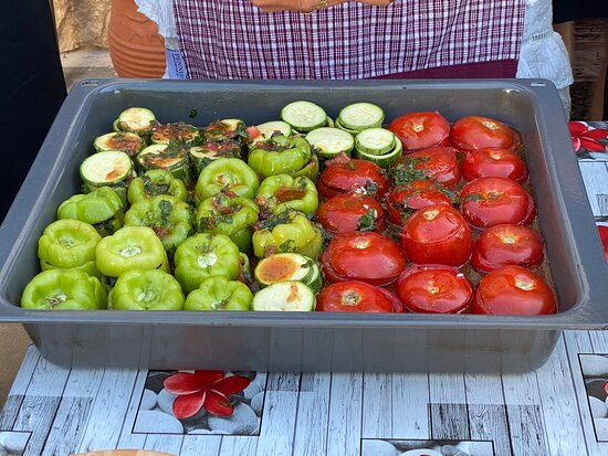 The Real Cretan Cooking Experience: amazing tour from Chania to mountain farm for local foods and farm and history experience