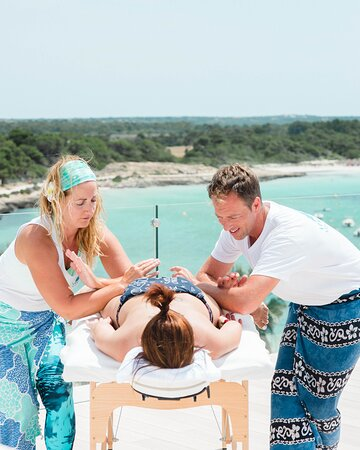 Massages at the rooftop The TOP