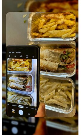 Food Delivery that comes where you are..   From 12:00- 02:00 A.M.
