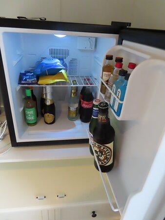 Room fridge