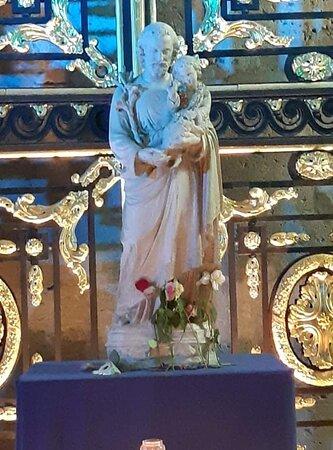 Cathédrale de Chartres, statue de Saint Joseph