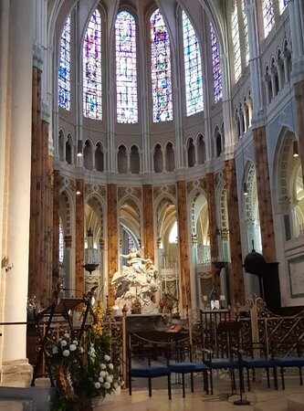 Cathédrale de Chartres, le choeur