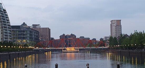 The quays.