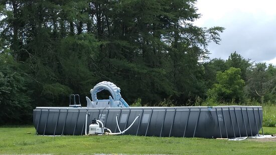 Lewisburg, TN: Large salt water pool located in a general area not far from the tipi