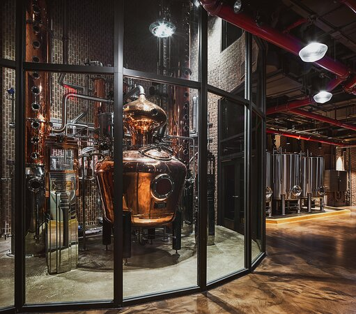 Our Vendome Pot and Column Stills - the first whiskey distillery in Manhattan since prohibition!