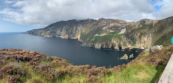 Slieve League - on the route!
