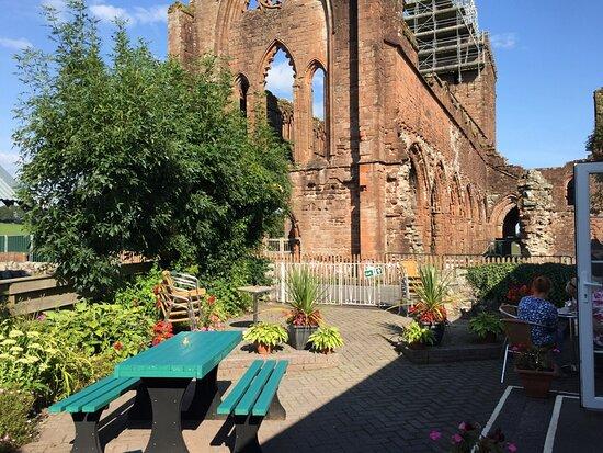 New Abbey, UK: Abbey Cottage Restaurant.