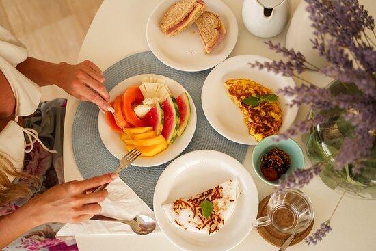 Fernando de Noronha, PE: Nada melhor do que começar o dia com nosso café da manhã