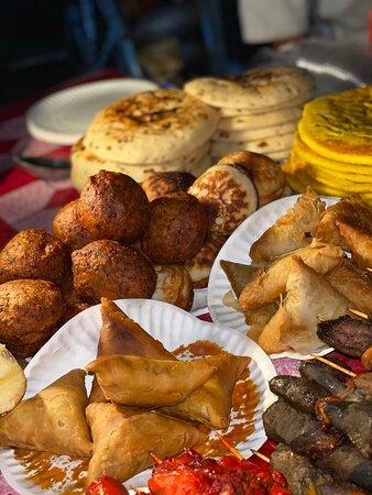 marché de nuit street food