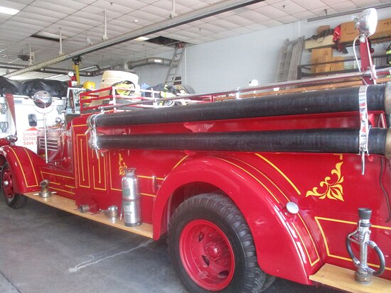 1929 Fire Engine at Charlottetown Fire Station