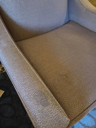 Stains on chair