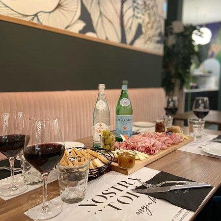 Et si vous veniez passé un moment convivial, gourmand autour d'une bonne planchette de charcuteries et fromages italiens ?