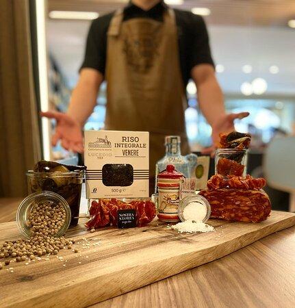 Notre sélection de produits piquant, spianata calabrese, piment fin, huile piquante,...