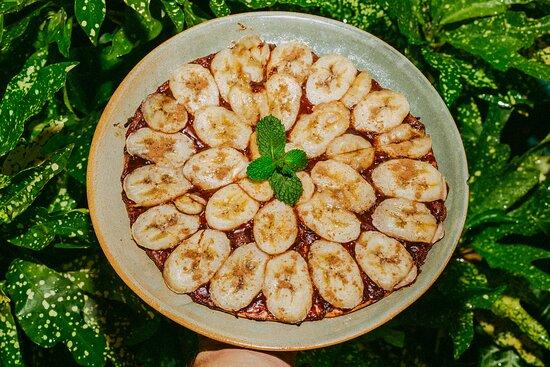 Broto Banana com Nutella