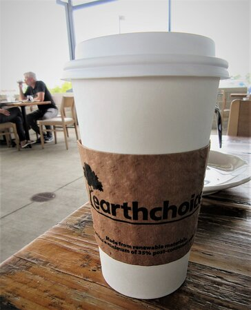 OPH: Free cup of  coffee to go. August 2021