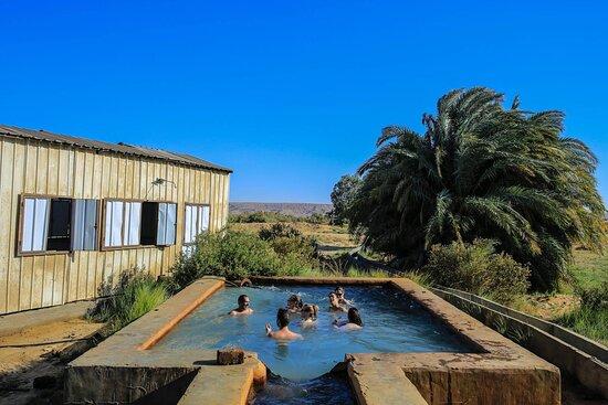 Hot spring, Baharya oasis