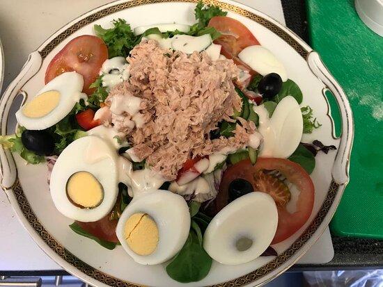Napoleon Nicoise salad