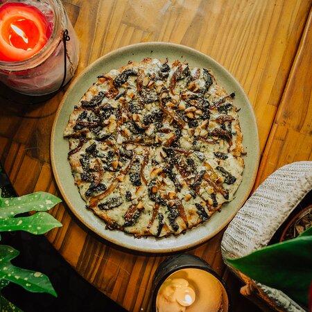 Broto Funghi com Gorgonzola