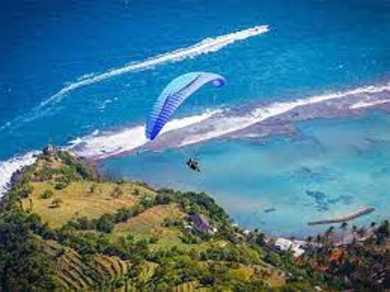 Best Bali Paragliding, Photo/Video with Free SD Card (15 Minutes Flight): view