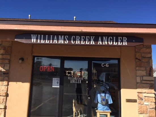 Pagosa Springs, CO: Front of the shop