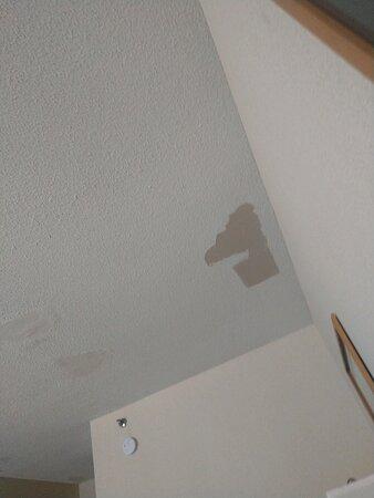 peeling ceiling