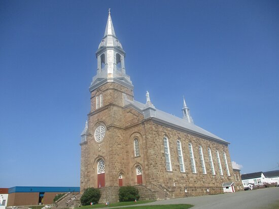 Cheticamp, Canada: Majestic St. Peter's