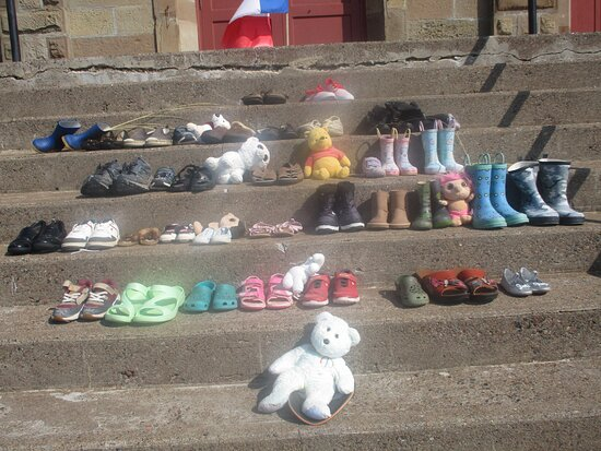 Cheticamp, Canada: Silent Homage to missing and deceased Indigenous children