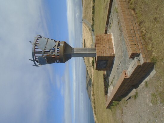 The Beacon on the Ceredigion Coast Path.