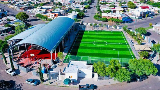 Parque Gléndel, ciudad Delicias Chihuahua.