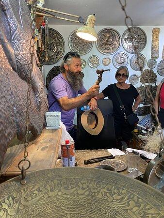 Visiting 'Mostar-Art' established in 1975