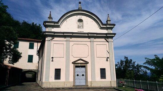 Santuario Madonna della neve in Gaggio.Podenzana.