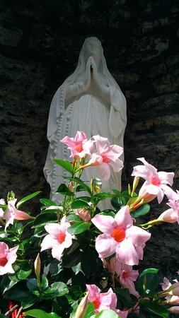 Santuario della Madonna della neve in Gaggio.Podenzana.