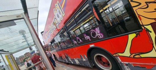 Liverpool City Sights Hop On Hop Off Open Top Multilingual City Tour صورة فوتوغرافية