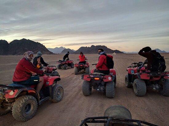 ATV in the deserts of Sharm