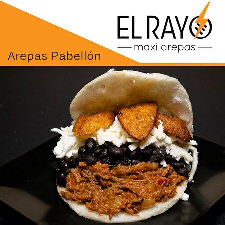 ¡Buenos días! Que mejor forma de empezar el día con una arepa de Pabellón en #elrayomaxiarepas.