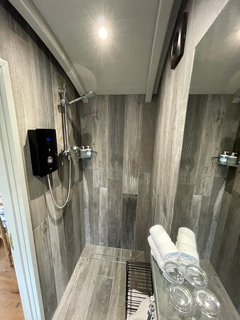 very comfortable and easy to use Shower  area